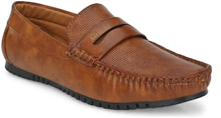 AARAVIN'S Loafers For Men ( Tan )