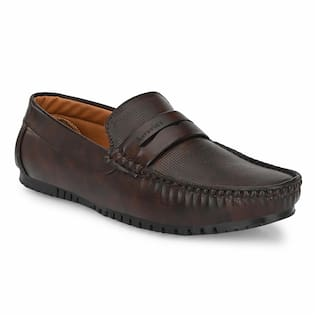 AARAVIN'S Loafers For Men ( Brown )