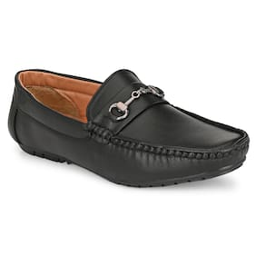 Men Black  Loafers ,Pack Of 1 Pair
