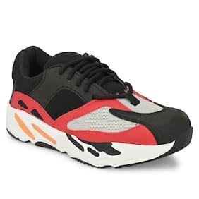 AARAVIN'S Men AR_170_BLACK Running Shoes ( Black )