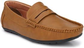 AARAVIN'S Men Beige Loafer