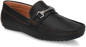 Men Black  Loafers