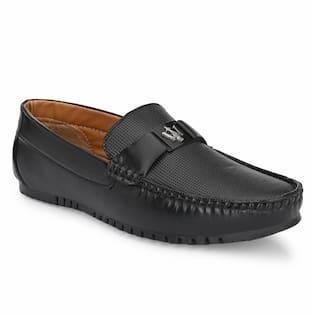 AARAVIN'S Loafers For Men ( Black )