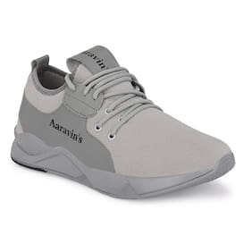 AARAVIN'S Men AR_159_GREY Running Shoes ( Grey )