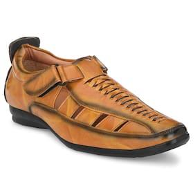 Men Sandals ( Tan )