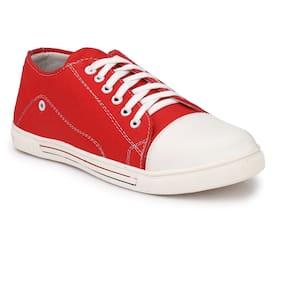 AARAVIN'S Men Red Sneakers - Ar_119