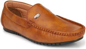 AARAVIN'S Men Tan Loafer