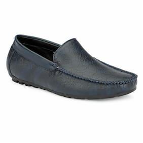Aash Posh Men Blue Loafers