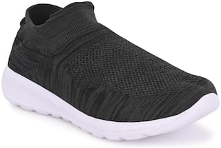 Aash Posh Casual Shoes For Unisex ( Black )