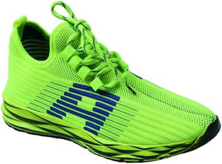 Aash Posh Casual Shoes For Men ( Green )