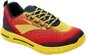 Aash Posh Men Yellow Casual Shoes - WN3001_YELLOW+RED_10