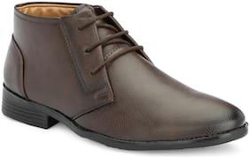 Aash Posh Men Brown Chukka Boots - 8000