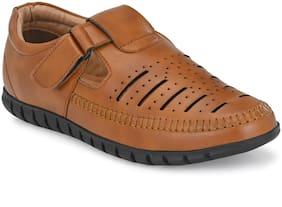 Aash Posh Unisex Tan Sandals