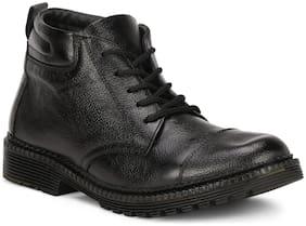 Abon Shoes Outdoor Boots For Men ( Black )