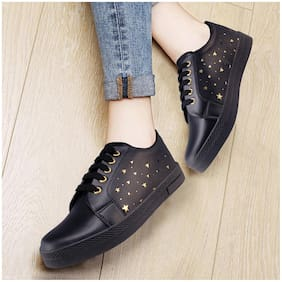 Action Women Black Classic Sneakers