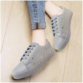 Action Women Grey Classic Sneakers