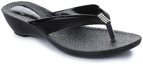 Action Black Women Slippers