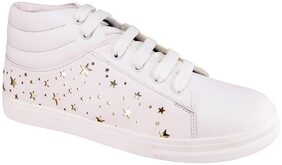 Action Women White Casual Shoes