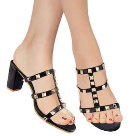 Women High Heels ( Black )