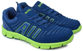 Action Men Sports Shoes N-72-Blue-Green