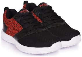 Action Shoes Black-Red Sports shoes