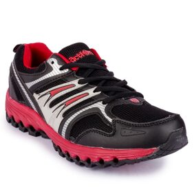 Action shoes Men Sports Shoes N-63-BLACK-RED
