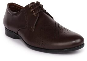 Action Men Brown Formal Shoes - Dcf-4-rodio