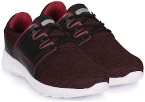 Action Men Running Shoes ( Black & Red )