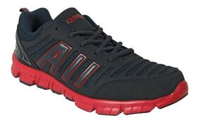 Action shoes Men Sports Shoes N-72-Navy-Red