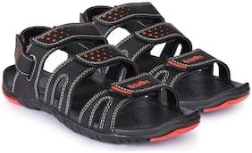 Action Men Black Sandals -