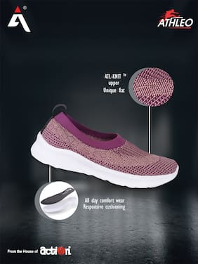 Action Women Running Shoes ( Pink )