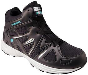 Action Men SRH7236-BlackSeaGreenSilver Running Shoes ( Black )