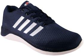 Action Men 7404-NavyBlueWhite Running Shoes ( Blue )