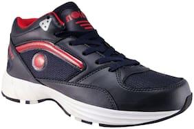 Action Men SRH0070-NavyBlueRedNew Running Shoes ( Navy Blue )