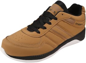 Action Synergy Men Sport Running Shoes 7101 Tan
