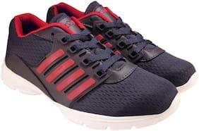 Action Women LDS52-NavyBlueRedNew Running Shoes ( Navy Blue )