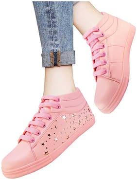 Action Women Pink Sneakers