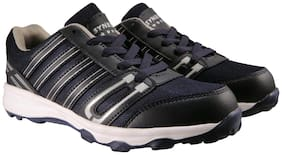 Action Synergy Men's Sports Running Shoes 7148 NavyBlue/Silver