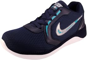 Action Synergy Sports Running Shoes 7334-NavyBlueSeaGreen for Men Size-8