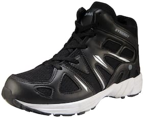 Action Synergy Men's Sports Running Shoes SRH7236 Black/Silver