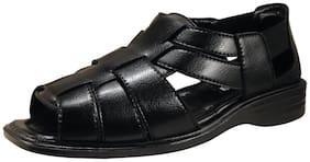 Action Synergy Men's Formal Sandal Black PU4425