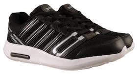 Action Synergy Men's Sports Running Shoes 7148 Black/Silver