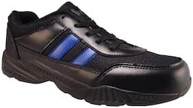 Action Men 7145-BlackBlue Running Shoes ( Black )