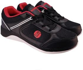 Action Men 7175-BlackRedNewA Running Shoes ( Black )