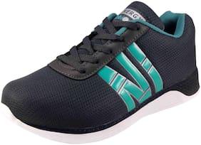Action Men 7366-GreySeaGreen Running Shoes ( Grey )