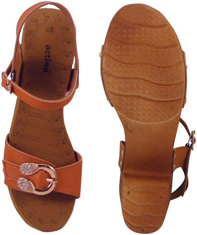 Action Women Tan Sandals