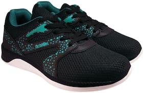 Action Men 7390-BlackSeaGreenA Running Shoes ( Green )