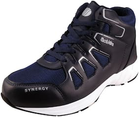 Action Synergy Sports Running Shoes SRH0025-BlueSilver for Men Size-9