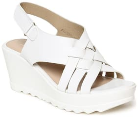 Addons Women White Wedges