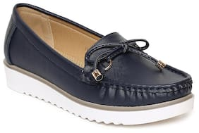 Addons Women Navy Blue Casual Shoes